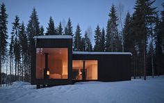 Four-Cornered Villa, Virrat, Finland by Avanto Architects. Photographs by Anders Portman and Martin Sommerschield.