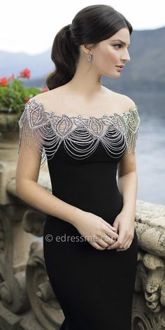 Tenedos Evening Dress by Tarik Ediz More