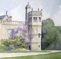 The Tower, Lacock Abbey.