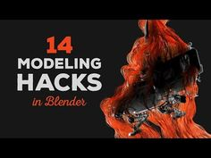 (2) 14 Awesome Modeling Hacks in Blender - YouTube