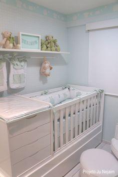 quarto de bebê - babyroom | projeto da arquiteta Ju Nejaim #projetojunejaim