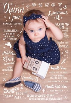 Baby's First Birthday InvitationFun van PamplemoussePaperie op Etsy