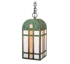 Yorktown 17″ H Arts & Crafts Outdoor Hanging Light