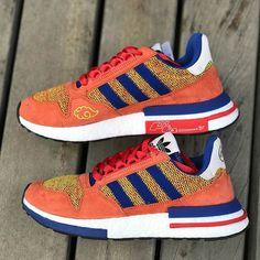 save off 4877b 3a8db adidas Goku Shoes - Dragon Ball Z Collection