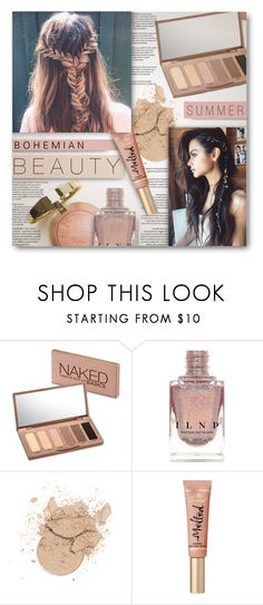 """Bohemian Beauty"" by pauirh ❤ liked on Polyvore featuring beauty, Chanel, Urban Decay, Summer, boho and Bohemian"