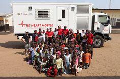 The Heart Fund - Mission en Côte d'Ivoire - 2013 Heart Mobile heartmobile innovation thf theheartfund cardiovasculardisease malformationcardiaque heartdisease ivorycoast cotedivoire child children davidluu cardiologie healthcare