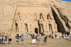 Temple of Ramses à Abū Sunbul, أسوان