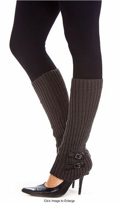 Knit Leg Warmers with Buckle Detail Knitting Projects, Knitting Ideas, Knit Leg Warmers, Cosplay Outfits, Knit Crochet, Jeans, My Style, Stylish, Clothing Ideas