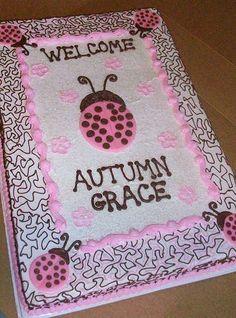 http://cakedecoratingcoursesonline.com/cake-decorating/ 100_0480. #Baby #Shower #Cake #Design - Learn How to #Decorate #Cakes - Visit #Online Cake #Decorating #Classes on http://CakeDecoratingCoursesOnline.com