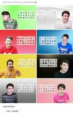 Dan and Phil are the only things that matter to me in this universe. They're just so ADORABLE!!!!