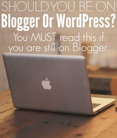 Blogger or WordPress – Tips on How to Move. If you are still on Blogger, then this is a must read. There are so many negatives to being on Blogger, and I once had to suffer the consequence of being on it. http://www.makingsenseofcents.com/2013/02/blogger-or-wordpress-tips-on-how-to-move.html