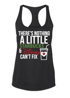 Disney & Starbucks Addict Tank
