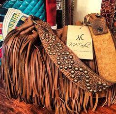 McFadin fringe purse