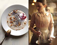TableTales: FAREWELL! British, Crunch, Downton Abbey, English, Haferflocken, Nüsse, Porridge, Daisy