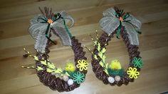 Velikonoční slzy Eggs, Wreaths, Halloween, Home Decor, Journaling, Easter Activities, Decoration Home, Room Decor, Egg