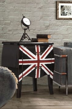 Union Jack Small Cabinet.
