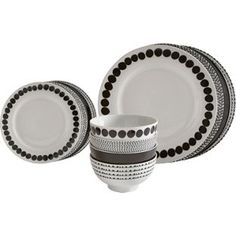 Buy Heart of House Mix N Match 12 Piece Porcelain Dinner Set at Argos.co.uk - Your Online Shop for Crockery.