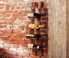 DIY wine rack, recycle old barrels - A&D BLOG