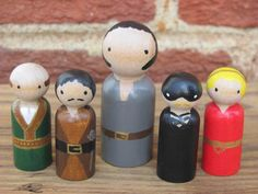 Princess Bride Inspired Peg People Miniature by TimeOfDaffodils, $35.00 (I want to make Princess Bride figurines out of clay someday!)