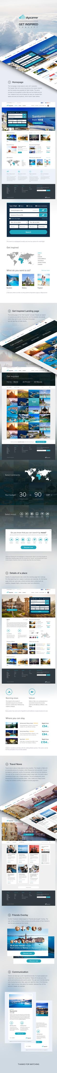 SkyScanner Website Design - Case Study