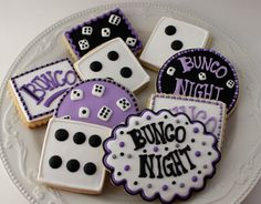 Cute bunco dessert