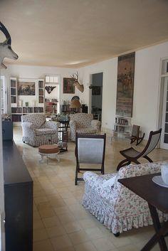 Hemingway's home in Cuba.