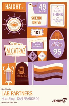 pretty fantastic color palette: Eight Hour Day » Blog » Lab Partners – Next Stop: San Francisco