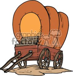 Covered Wagon Clipart Free - WoodWorking Projects & Plans