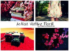 Action Vintage Floral  by *Queen-Kltz