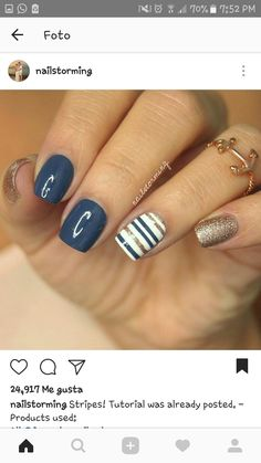 Winter Nails, Summer Nails, Cruise Nails, Really Cute Nails, Cuticle Care, Instagram Nails, Cute Nail Designs, All About Fashion, Sweet 16