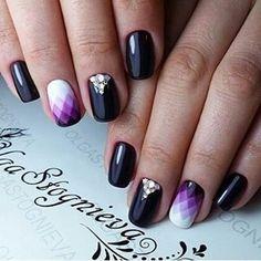 "386 Me gusta, 3 comentarios - Идеи маникюра. Nail design. (@nails.masters) en Instagram: ""@olgastognieva  #manicure #nailart#nailartclub #маникюр#гельлак#nailartwow…"""