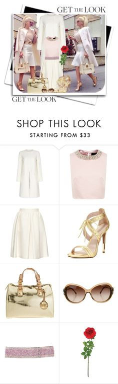 """""""JK get the look"""" by deskaj ❤ liked on Polyvore featuring Paul Smith, Ted Baker, Vanessa Bruno, Pour La Victoire, MICHAEL Michael Kors, Chanel, Cocobelle, Laura Cole, GetTheLook and coolcoat"""