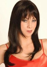 Nice Yaki Straight 18Inch Full Lace Wig 100% Remy Human Hair