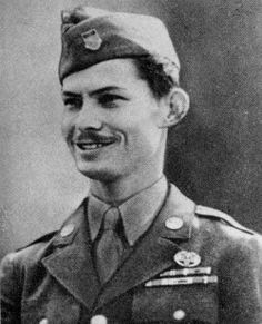 Desmond T. Doss (1919-2006) was the first conscientious objector to receive the Congressional Medal of Honor. Because of his religious beliefs, he refused to carry weapons and was thus assigned to the army's Medical Corp as a corpsman. His repeated acts of valor during the Battle of Okinawa,where he ignored intense enemy fire to keep treating and rescuing wounded comrades, led to his serious wounding on May 21, 1945. Today, he rests at the National Cemetery in Chattanooga, Tennessee.