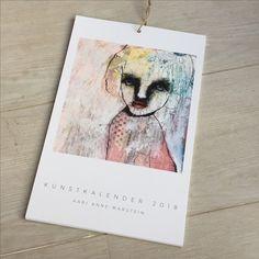 Kunstkalender 2018 Kunstner Kari Anne Marstein - art calendar