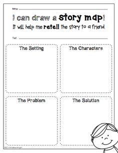 Reading Response Templates for Any Book: Open-ended sheets for K-2 children, literature and informational texts. $