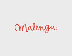 Honduran brand @malengudesigns approached me to design a word mark for their identity. The briefing was to design a dynamic, bold and straightforward design that could properly work in small sizes such as on eyeglasses, and also their institutional material. http://be.net/gallery/54102757/Malengu