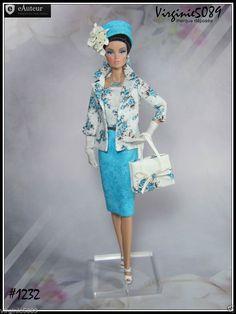 Tenue Outfit Accessoires Pour Fashion Royalty Barbie Silkstone Vintage 1232 | eBay