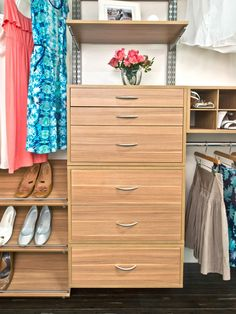 Photos Hgtv pertaining to Awesome  adjustable closet storage systems intended…