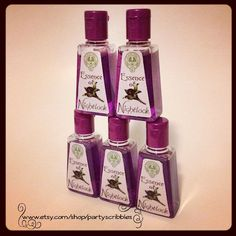 5 Hunger Games Party Favors Essence of Nightlock by PartyScribbles, $11.25