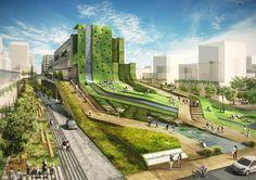 Seun City Walk | Avoid Obvious | Archinect