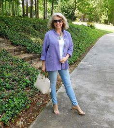 Fashion and lifestyle blog for women. The second fifty years are the best!