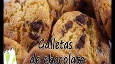 Muchas Recetas - YouTube Galletas de chocolate