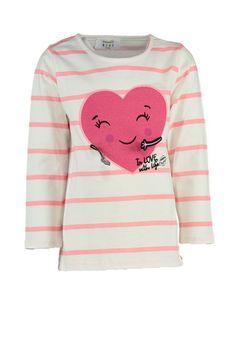 Beyaz Hareketli El Detaylı Kız Çocuk T-shirt TRENDYOLKIDS | Trendyol