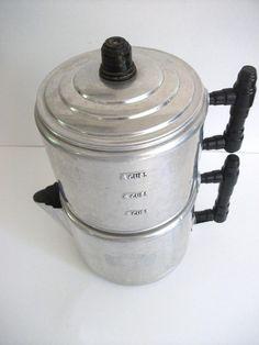 Aluminum Drip Coffee Pot