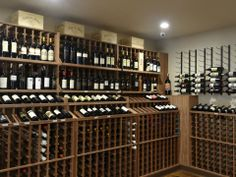 A look at WineRacks.com's mahogany commercial wine racks and VintageView wine racks in the brand new Maximum Beverage Store in Farmington, CT