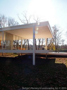 Designed by Mies van der Rohe in 1945 and constructed in 1951 the