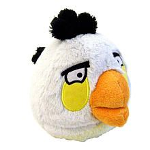 "Angry Birds 5 inch Plush with Sound - White -  Commonwealth Toys - Toys""R""Us"