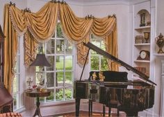 draperies - traditional - living room - nashville - Sanders Drapery