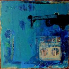 "Saatchi Art Artist Nancy Bossert; Painting, ""Through it All"" #art"